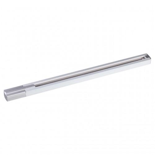 135080 NT19 016 алюминий Однофазный шинопровод с токопроводом и заглушкой, 2м IP20 220V
