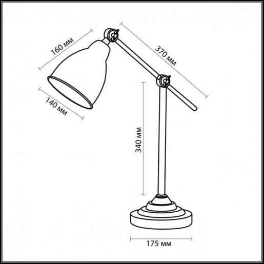 2413/1T ODL13 691 никель Н/лампа E27 60W 220V CRUZ