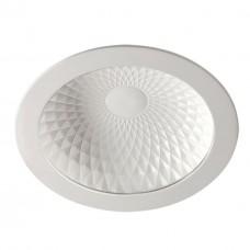 357498 NT18 141 белый Встраиваемый светильник IP20 LED 3000K 15W 85-265V GESSO