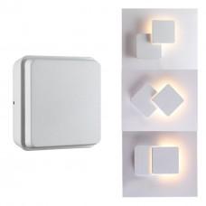 357827 NT18 154 белый Ландшафтный настенный светильник LED 3000К 12W 220-240V KAIMAS