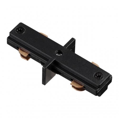 135007 NT18 015 черный Соединитель внутренний с токопроводом для однофазного шинопровода IP20 220V