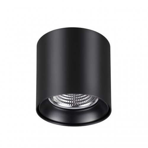 358473 OVER NT21 000 черный Светильник накладной IP20 LED 4000K 10W 200-260V RECTE