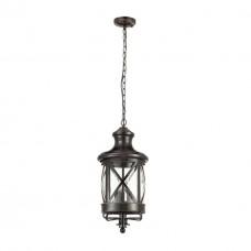 4045/3 ODL18 708 черный/золотая патина Уличный светильник-подвес IP44 E14 3*60W 220V SATION