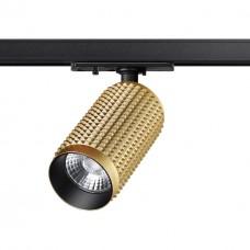 358497 PORT NT21 000 золото Однофазный трековый светодиодный светильник IP20 LED 4000K 12W 220V MAIS LED