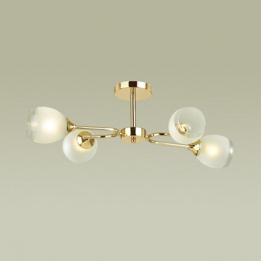4546/4C COMFI LN21 048 золотой, белый Люстра потолочная E27 4*60W 220V JOLENE
