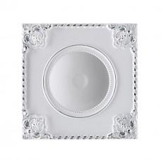 357618 NT18 141 белый/хром Встраиваемый светильник IP20 LED 3000K 9W 85-265V NOVEL
