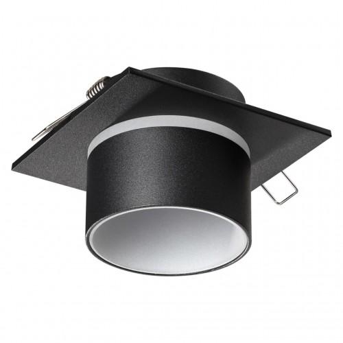 370717 SPOT NT21 000 черный Светильник встраиваемый IP20 GU10 9W 235V LIRIO