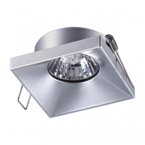 370743 SPOT NT21 000 серебро Светильник встраиваемый IP20 GU10 50W 220V METIS