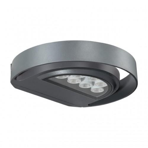 357423 NT17 159 темно-серый Ландшафтный светильник IP54 LED 3000K 7W 220-240V KAIMAS