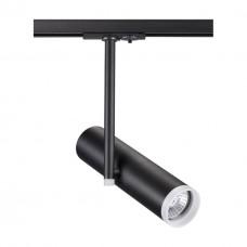 370575 NT19 098 черный Трековый светильник IP20 GU10 50W 220V BATRA