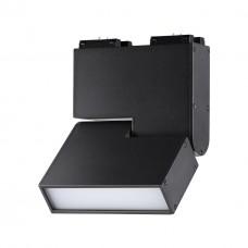 358469 SHINO NT20 000 черный Трековый светильник для низков. шинопровода IP20 LED 4000К 10W 24V KIT
