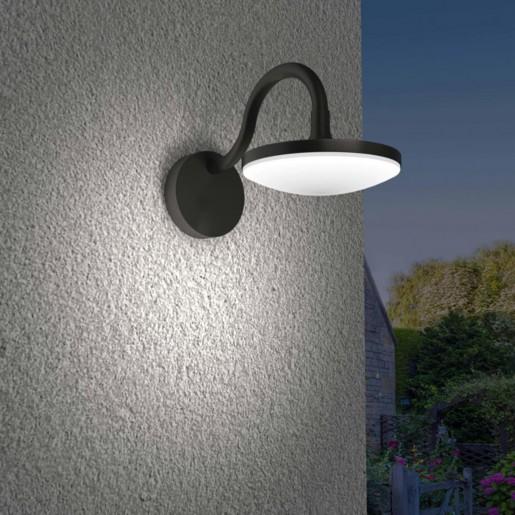 357443 NT18 151 темно-серый Ландшафтный светильник IP54 LED 3000K 10W 100-240V ROCA