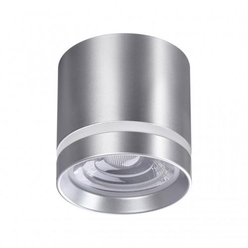 358493 OVER NT20 000 серебро Светильник накладной IP20 LED 4000K 12W 220V ARUM