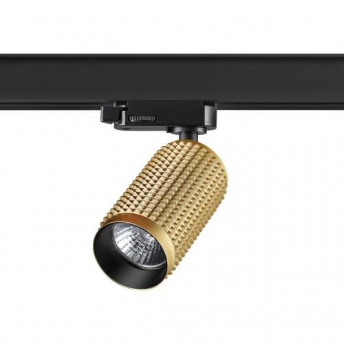 370768 PORT NT21 000 золото Трехфазный трековый cветильник IP20 GU10 50W 220V MAIS