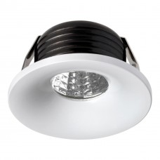 357700 NT18 090 белый Встраиваемый светильник IP20 LED 3000K 3W 160-265V DOT