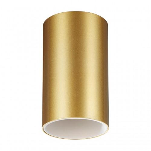 370728 OVER NT21 000 золото Светильник накладной IP20 GU10 9W 235V ELINA