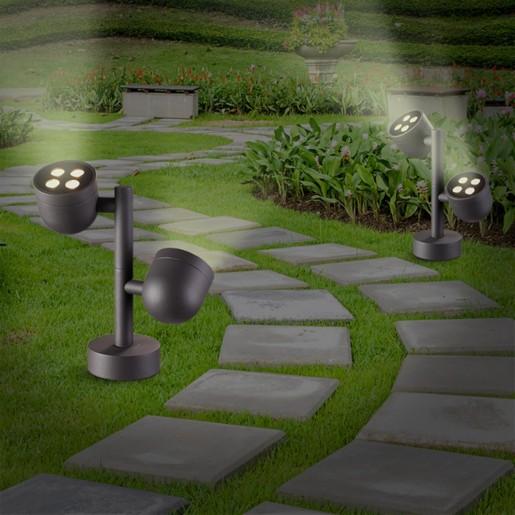 358117 NT19 149 темно-серый Ландшафтный светильник IP65 LED 3000К 20W 100-240V GALEATI
