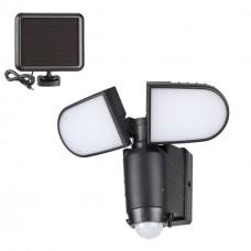 358018 NT19 180 черный Ландшафтный светильник на солнечной батарее IP54 LED 6000К 14.4W 3.7V SOLAR
