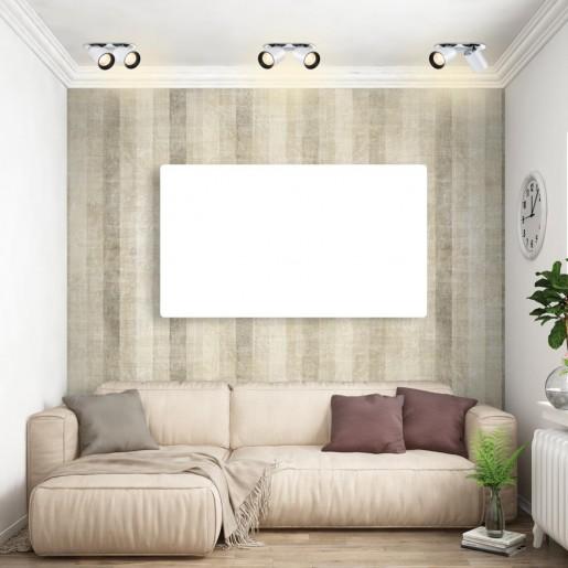 358341 NT19 000 белый/черный Встраиваемый светильник IP20 LED 3000К 24W 220V LANZA