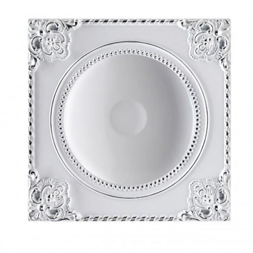 357619 NT18 141 белый/хром Встраиваемый светильник IP20 LED 3000K 12W 85-265V NOVEL