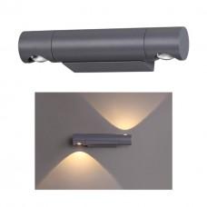 358089 NT19 152 темно-серый Ландшафтный светильник IP54 LED 3000К 11W 220V KAIMAS