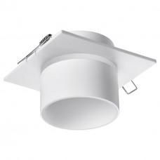 370718 SPOT NT21 000 белый Светильник встраиваемый IP20 GU10 9W 235V LIRIO