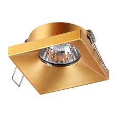 370744 SPOT NT21 000 золото Светильник встраиваемый IP20 GU10 50W 220V METIS