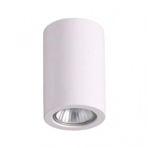 3553/1C ODL18 196 белый гипсовый Потолочный накладной светильник IP20 GU10 1*35W 220V GIPS
