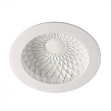 357500 NT18 141 белый/хром Встраиваемый светильник IP20 LED 3000K 9W 85-265V GESSO