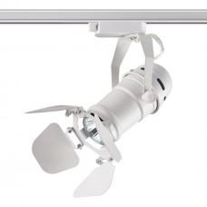370409 NT19 099 белый Трековый светильник IP20 GU10 50W 220V UFO