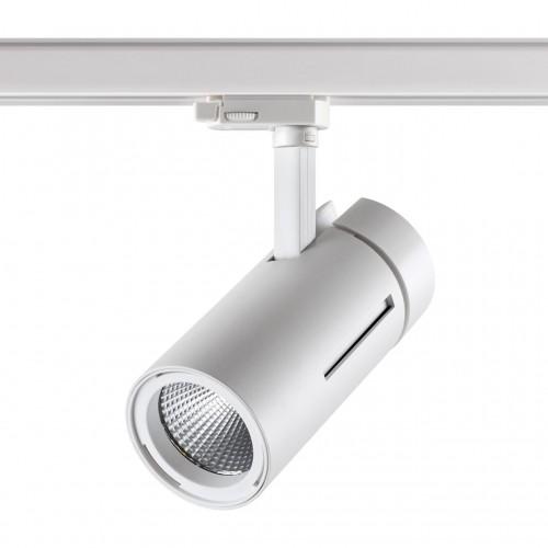 358596 PORT NT21 000 белый Трехфазный трековый cветильник IP20 LED 4000K 30W 175-245V DEP