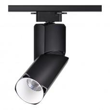 357839 NT18 059 черный/белый Трековый светильник IP33 LED 3000К 10W 110-265V UNION