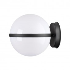 4832/1W NATURE ODL21 563 черный/акрил Ландшафтный настенный светильник E27 1*10W IP44 LOMEO LOMEO