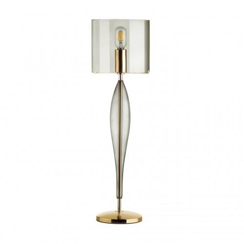 4850/1T STANDING ODL_EX21 дымчатый/золото/стекло Высокая Лампа E27 1*60W TOWER