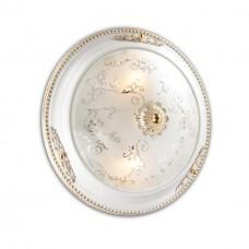 2670/2C ODL14 596 белый с зол.декором/бел Потолочн светильник E14 2*60W 220V CORBEA