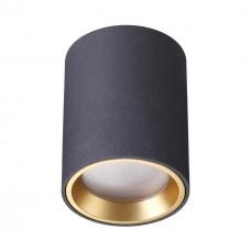 4205/1C ODL20 188 черный/металл Потолочный светильник GU10 50W AQUANA IP54
