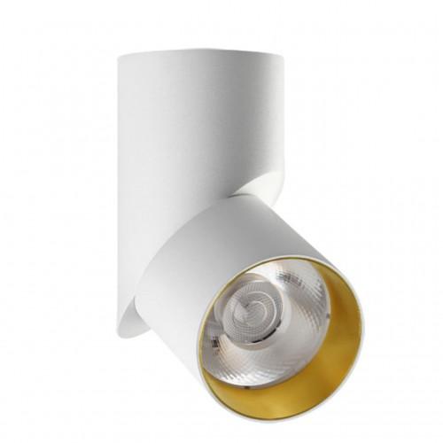 357540 NT18 055 белый/золото Накладной светильник IP20 LED 3000K 23W 110-240V UNION