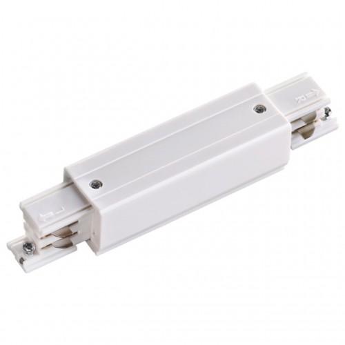 135050 NT19 012 белый Соединитель с токопроводом прямой внешний для трехфазного шинопровода IP20 220