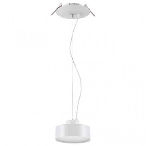 357882 NT18 066 белый Встраиваемый светильник IP20 LED 3000К 25W 220-240V PROMETA