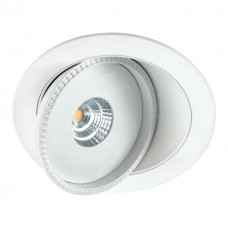 357347 NT17 080 белый Встраиваемый светильник IP20 LED 3000K 7W 85-265V GESSO