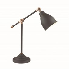 3373/1T ODL17 677 черный, медный Настольная лампа E27 60W 220V CRUZ