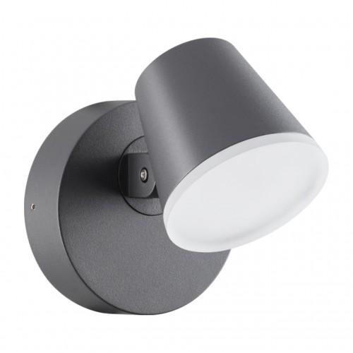 357830 NT18 155 темно-серый Ландшафтный настенный светильник LED 3000К 12W 220-240V KAIMAS