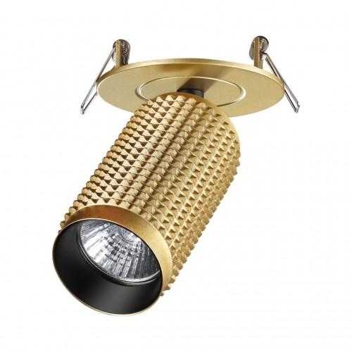 370750 SPOT NT21 000 золото Светильник встраиваемый IP20 GU10 50W 220V MAIS