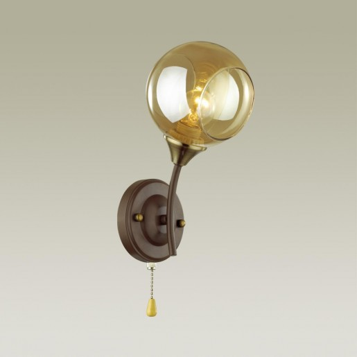 4550/1W COMFI LN21 055 коричневый Бра E27 60W 220V ASHTON