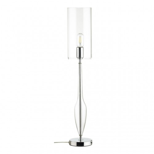 4851/1T STANDING ODL_EX21 прозрачный/хром/стекло Высокая Лампа выкл. на базе E27 1*60W TOWER