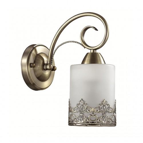 3070/1W LN16 193 бронзовый/стекло/метал. декор Бра E27 40W 220V CITADELLA