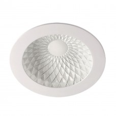 357501 NT18 141 белый/хром Встраиваемый светильник IP20 LED 3000K 15W 85-265V GESSO