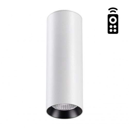 358312 NT19 000 белый Накладной диммируемый св-к с пультом ДУ IP20 LED 3000-6500K 20W 220-240V DEMI